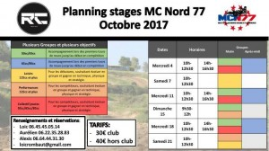 planning stage octobre